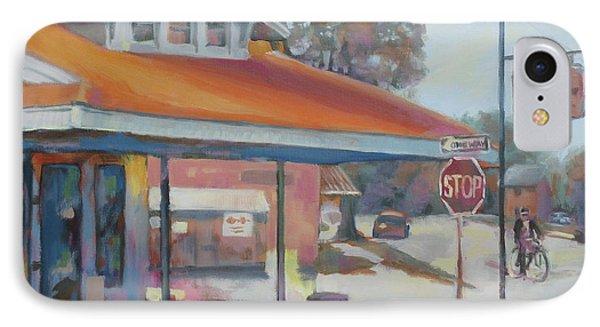 Sunday Traffic Phone Case by Carol Strickland
