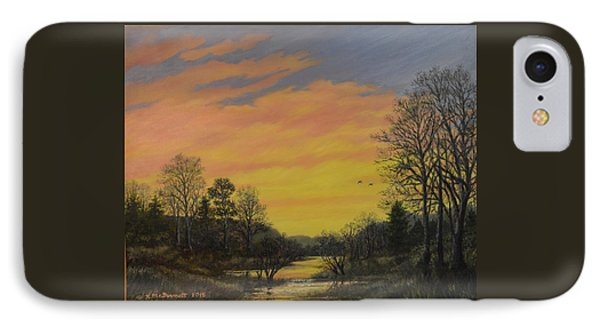 Sundown Glow IPhone Case by Kathleen McDermott