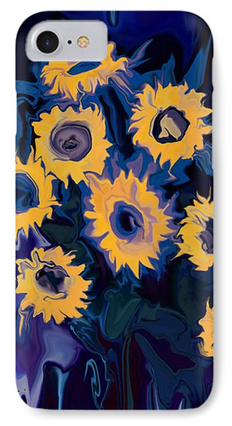 Sunflower 1 IPhone Case by Rabi Khan