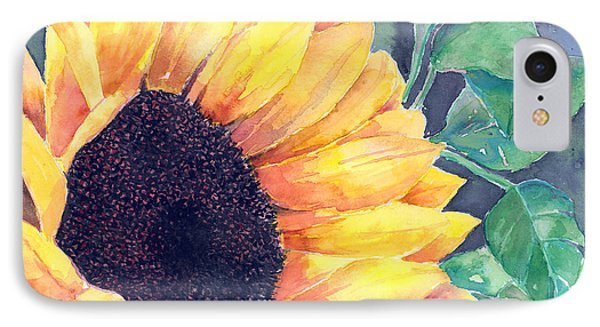 Sunflower Phone Case by Arline Wagner