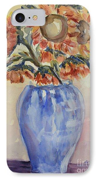 Sunflower Bouquet Phone Case by Heather Kertzer