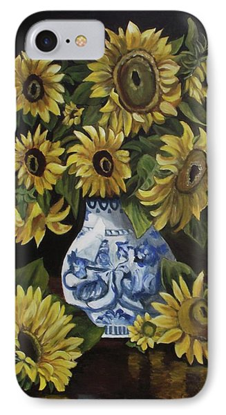 Sunflower Bouquet Phone Case by Kim Selig