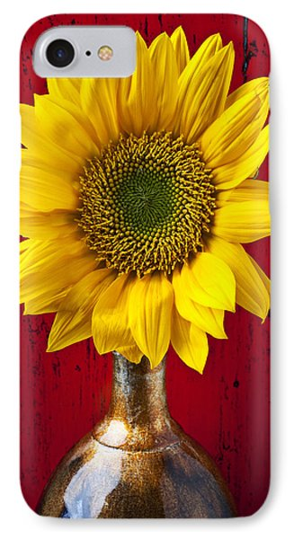 Sunflower Close Up IPhone Case by Garry Gay