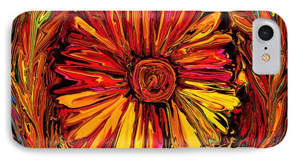 Sunflower Emblem IPhone Case by Rabi Khan