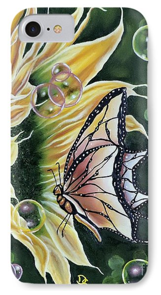 Sunflower Fantasy IPhone Case by Dianna Lewis