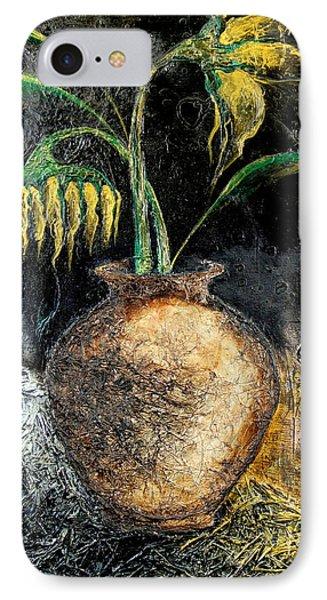 Sunflower IPhone Case by Farzali Babekhan