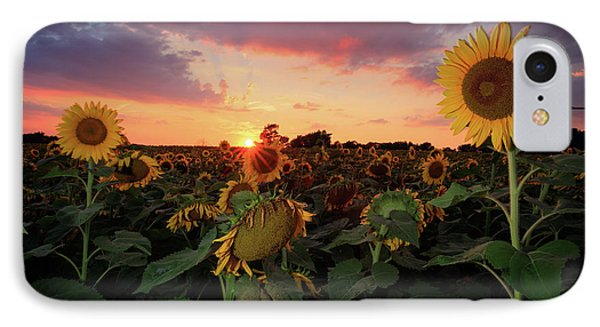 IPhone Case featuring the photograph Sunflower Field 2  by Emmanuel Panagiotakis