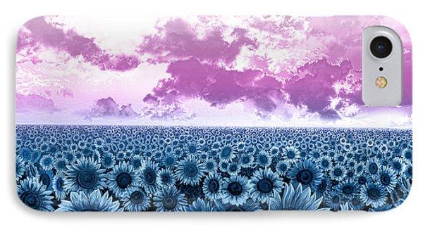 Sunflower Fields 3 IPhone Case