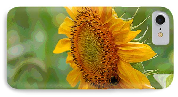 Sunflower Fun IPhone Case