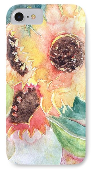 Sunflower Glory IPhone Case by Renate Nadi Wesley