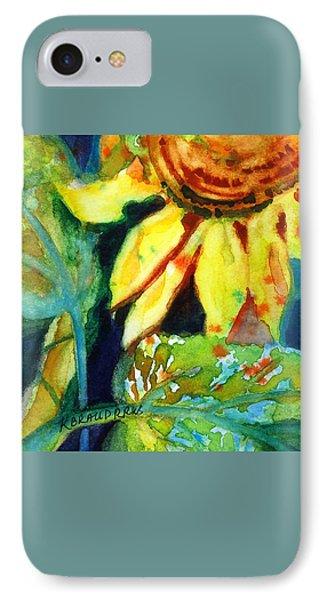 Sunflower Head 4 Phone Case by Kathy Braud