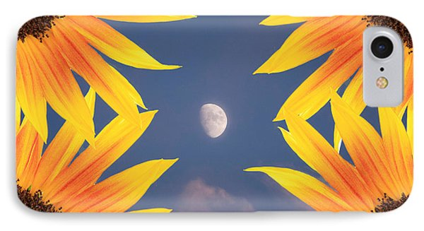 Sunflower Moon IPhone Case