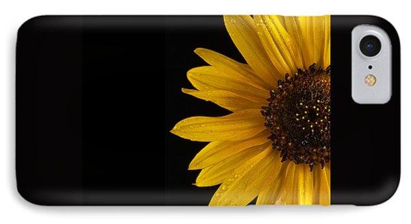 Sunflower Number 3 Phone Case by Steve Gadomski