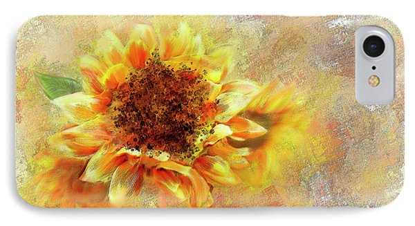 Sunflower On Fire IPhone Case