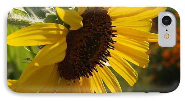 Sunflower Profile Phone Case by Anna Lisa Yoder