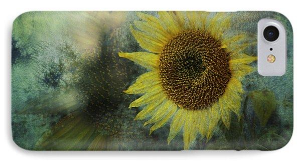 Sunflower Sea Phone Case by Belinda Greb