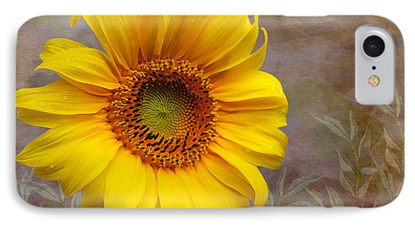 Sunflower Serenade IPhone Case by Nina Silver