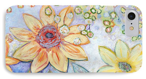 Sunflower iPhone 7 Case - Sunflower Tropics Part 2 by Jennifer Lommers