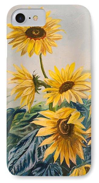 Sunflowers 1 Phone Case by Jana Goode