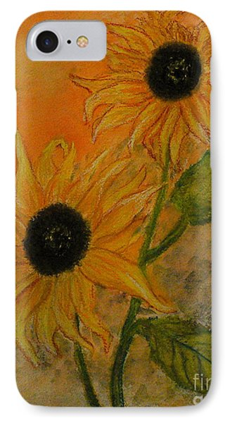 Sunflowers Phone Case by Carla Stein