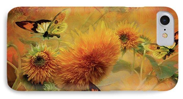 Sunflowers Phone Case by Carol Cavalaris