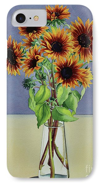 Sunflowers IPhone Case by Christopher Ryland