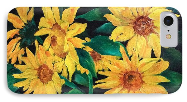 Sunflowers IPhone Case