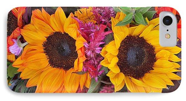 Sunflowers Eyes IPhone Case