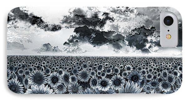 Sunflowers Filed 2 IPhone Case