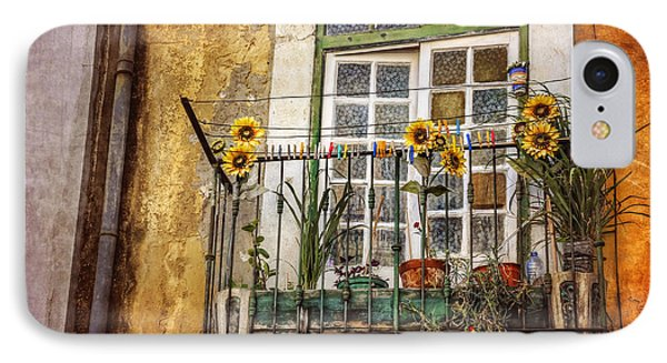 Sunflowers In The City IPhone Case by Carol Japp