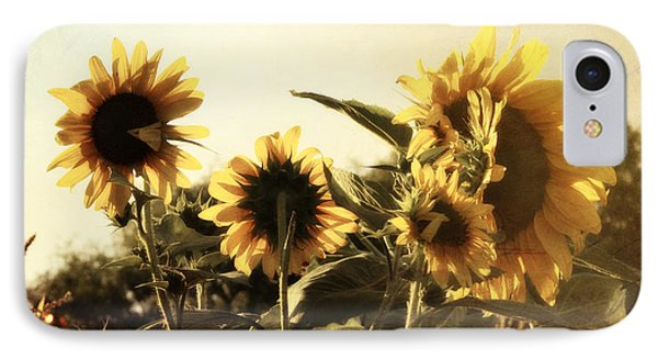 IPhone Case featuring the photograph Sunflowers In Tone by Glenn McCarthy Art and Photography