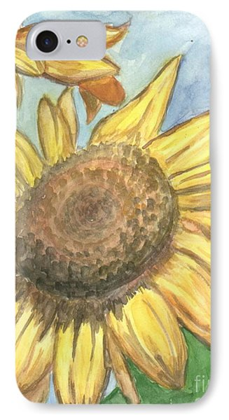 Sunflowers IPhone Case by Jacqueline Athmann