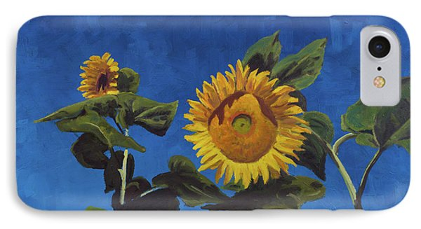 Sunflowers Phone Case by Marco Busoni