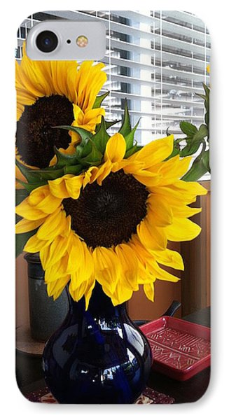 Sunflowers IPhone Case by Molly Williams