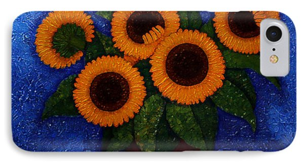 Sunflowers Of My Hope II IPhone Case