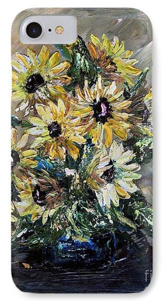 Sunflowers Phone Case by Teresa Wegrzyn