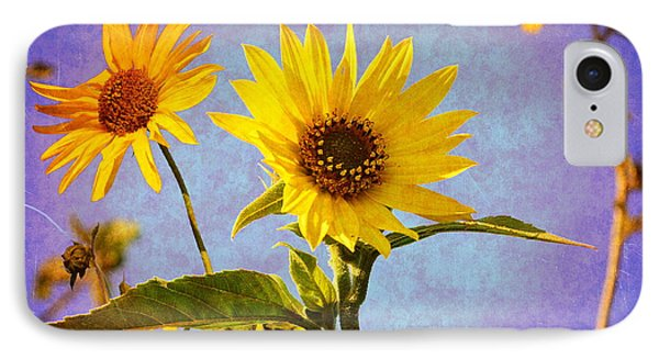 IPhone Case featuring the photograph Sunflowers - The Arrival by Glenn McCarthy Art and Photography