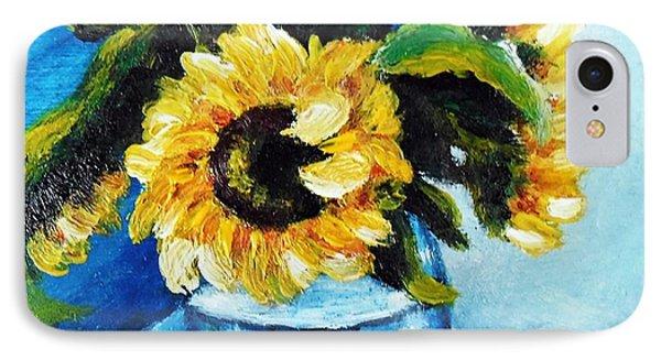 Sunflowers Phone Case by Vesna Martinjak