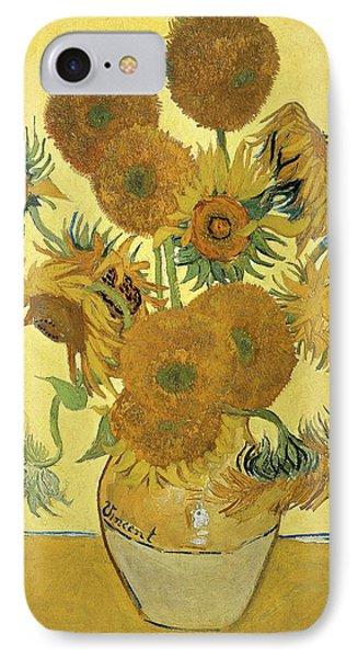 Sunflowers Phone Case by Vincent Van Gogh