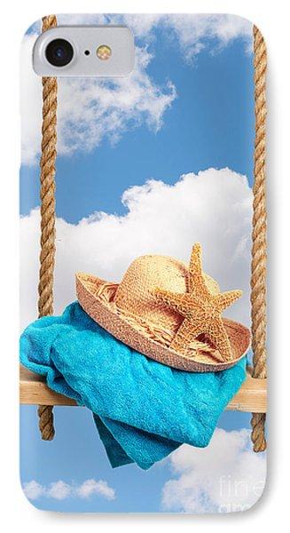 Sunhat On Swing IPhone Case