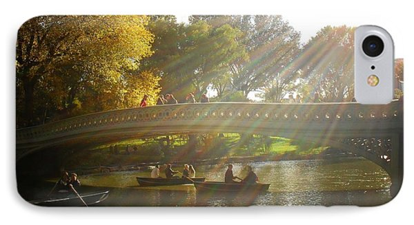 Sunlight And Boats - Central Park -  New York City Phone Case by Vivienne Gucwa