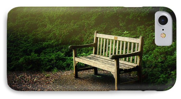 Sunlight On Park Bench IPhone Case