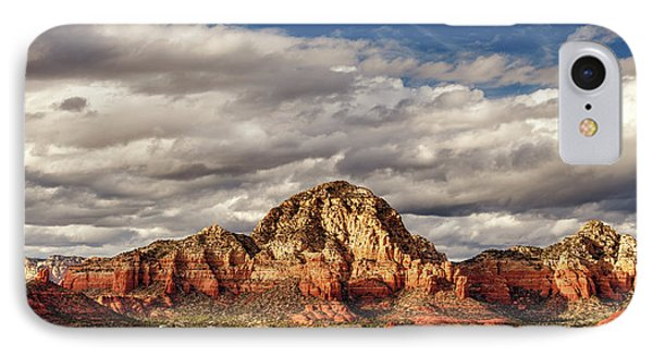 IPhone Case featuring the photograph Sunlight On Sedona by James Eddy
