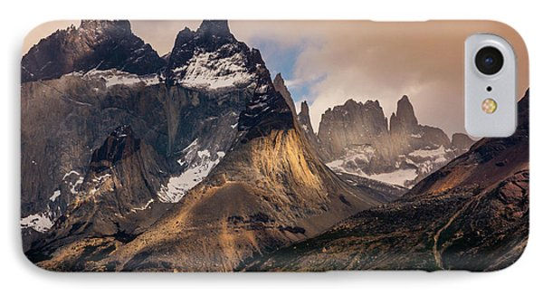 IPhone Case featuring the photograph Sunlight On The Mountain by Andrew Matwijec
