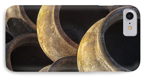 Sunlit Pottery Phone Case by Sandra Bronstein