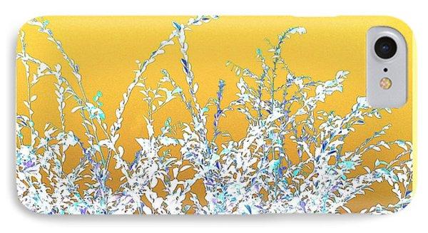 IPhone Case featuring the digital art Sunny Austin Bush by Ellen O'Reilly
