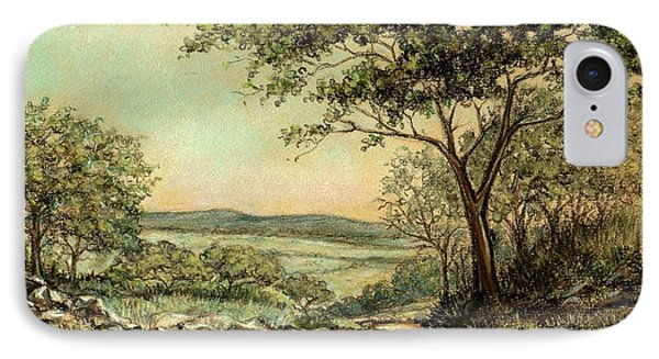 IPhone Case featuring the painting Sunny Bushveld by Heidi Kriel