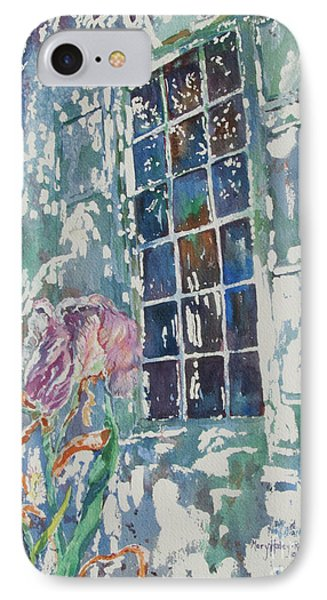 IPhone Case featuring the painting Sunny Day At Brandywine by Mary Haley-Rocks