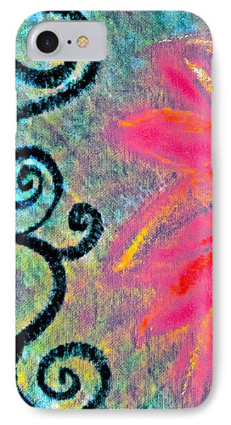 Sunny Day Pink Phone Case by Gwyn Newcombe