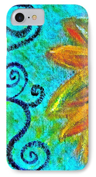Sunny Day Yellow Phone Case by Gwyn Newcombe